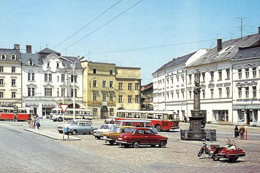 Opava (z Města před rokem 1989 a dnes)