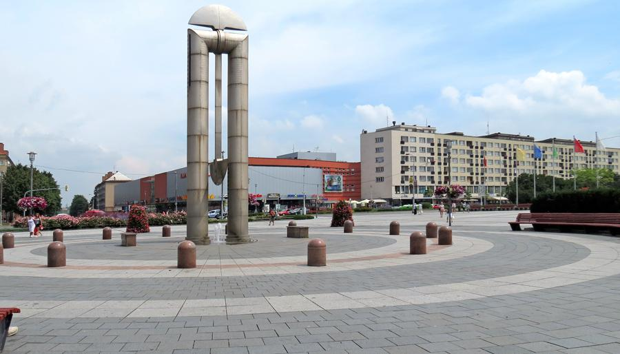 Havířov (z Města před rokem 1989 a dnes)