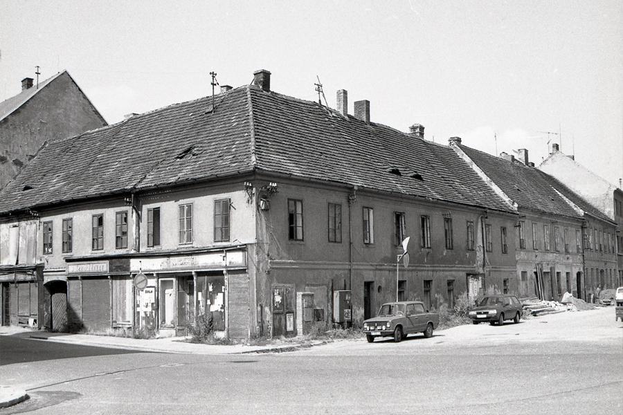 Písek (z Města před rokem 1989 a dnes)