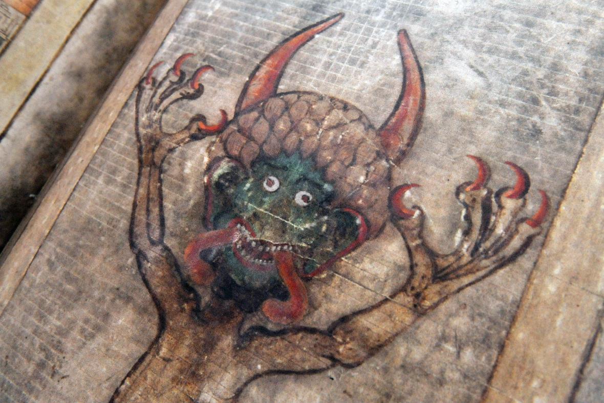 Codex Gigas neboli Ďáblova bible