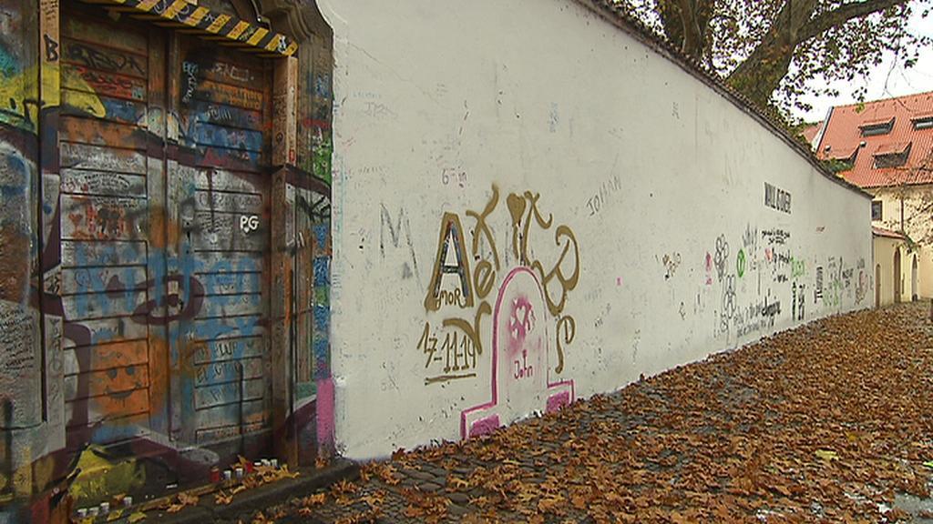 Lennonova zeď - 18. 11. 2014 dopoledne