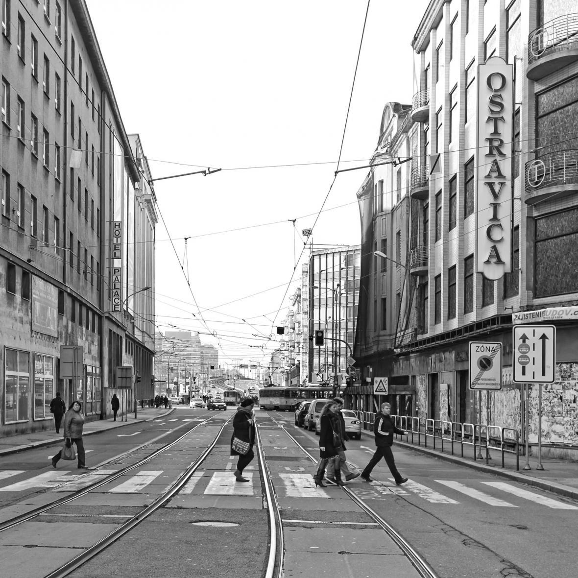 Pohled ulicí 28. října dnes