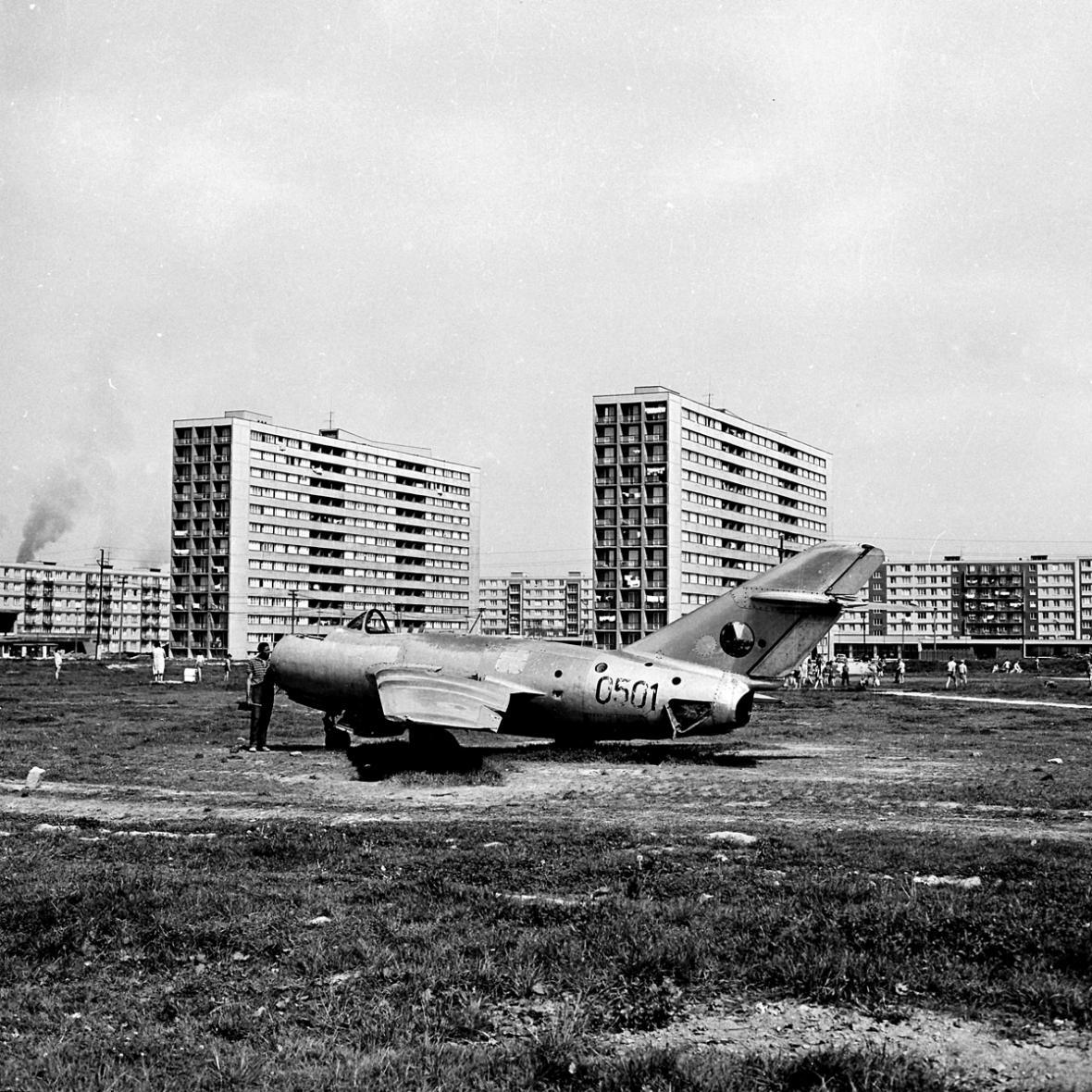 Ostrava-Poruba před rokem 1989