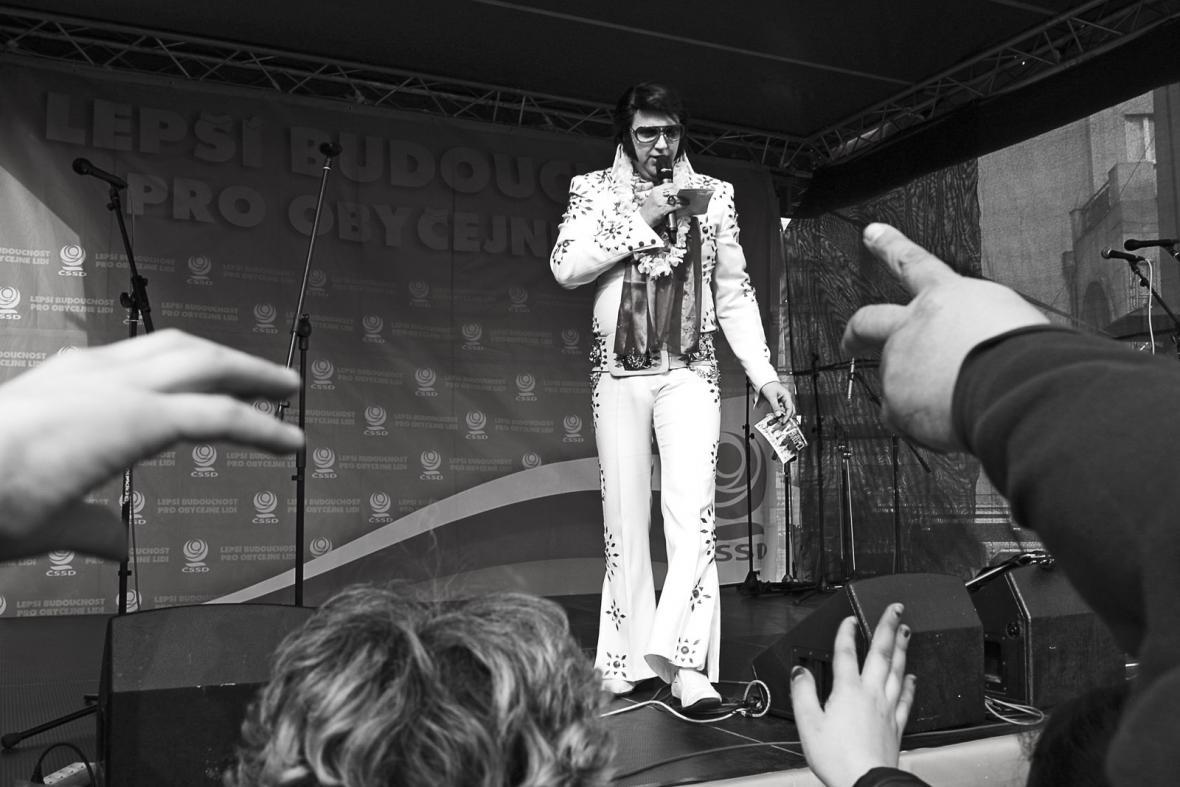 Elvis Presley show - Ostrava dnes