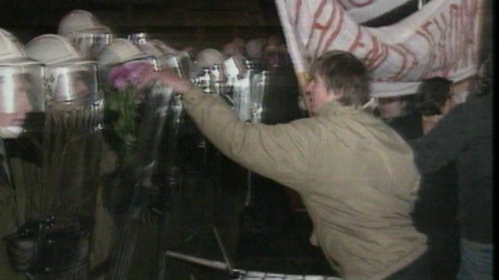 Národní třída - 17. 11. 1989