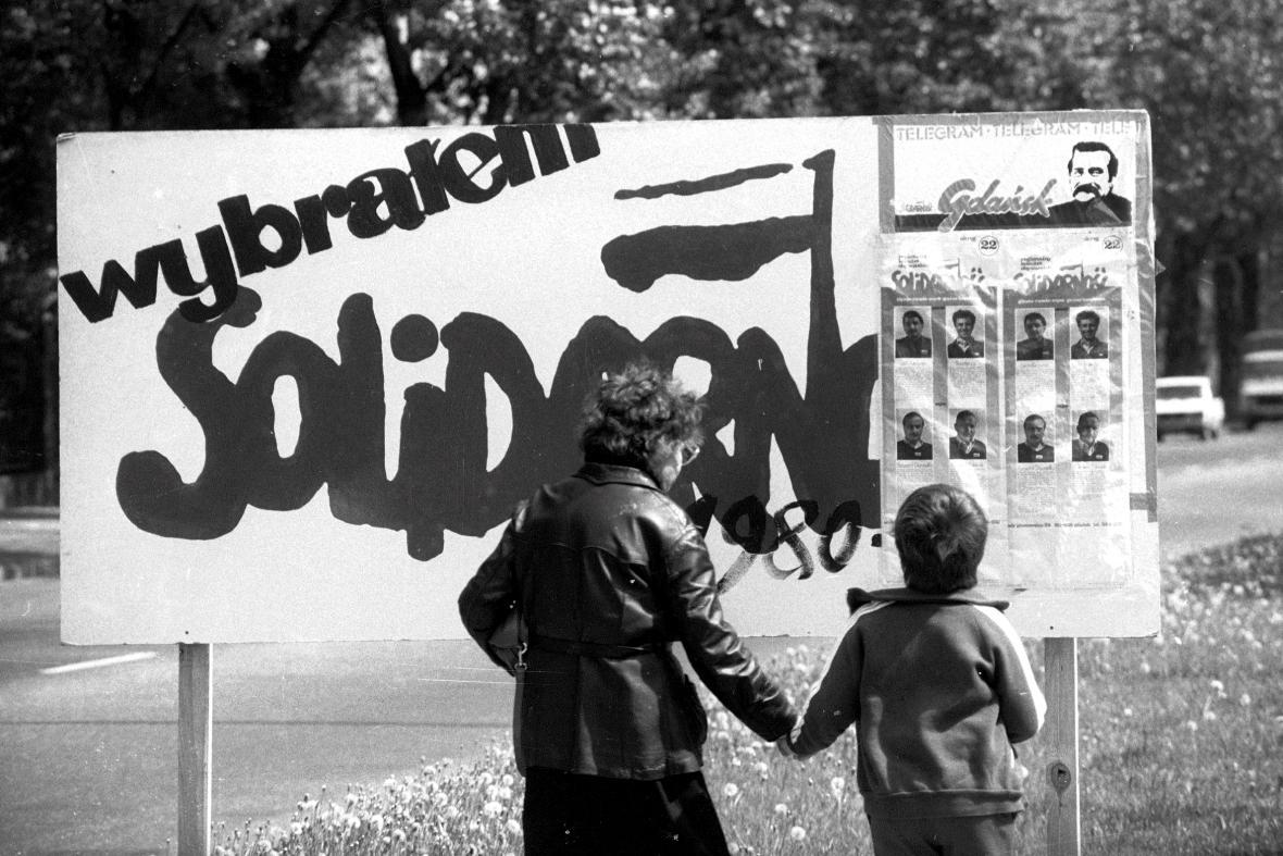 Kampaň před polskými volbami v červnu 1989