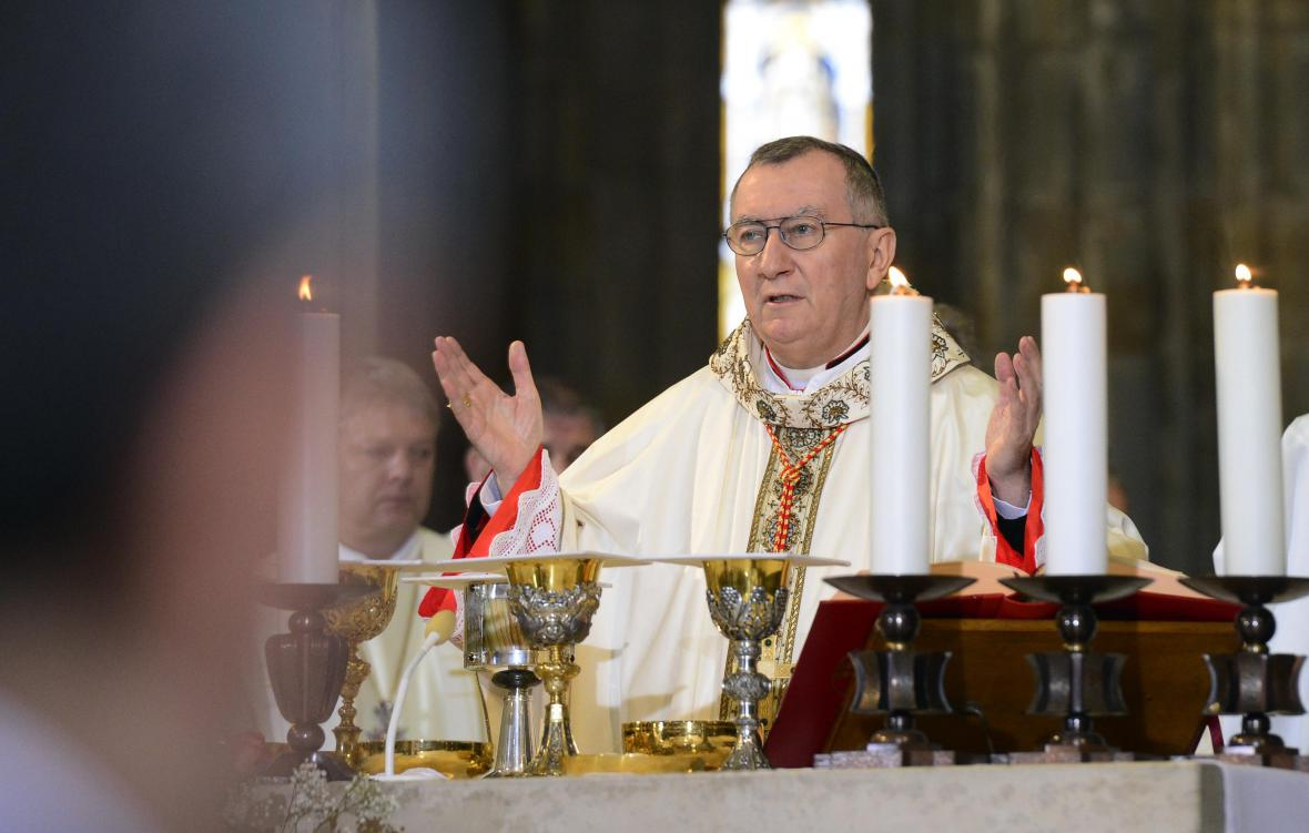 Vatikánský státní tajemník Pietro Parolin