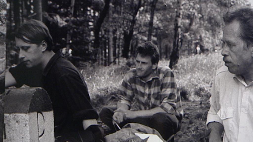 Jáchym Topol na archivní fotografii