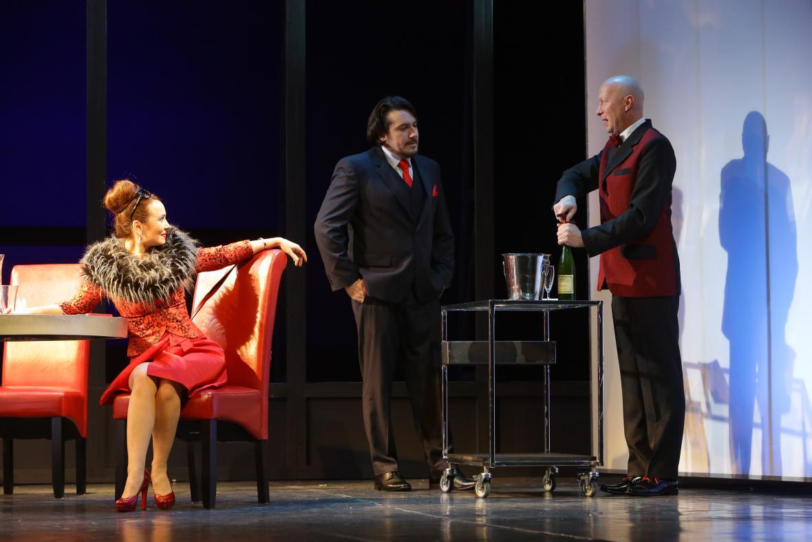 Inscenace Večeře v Národním divadle moravskoslezském
