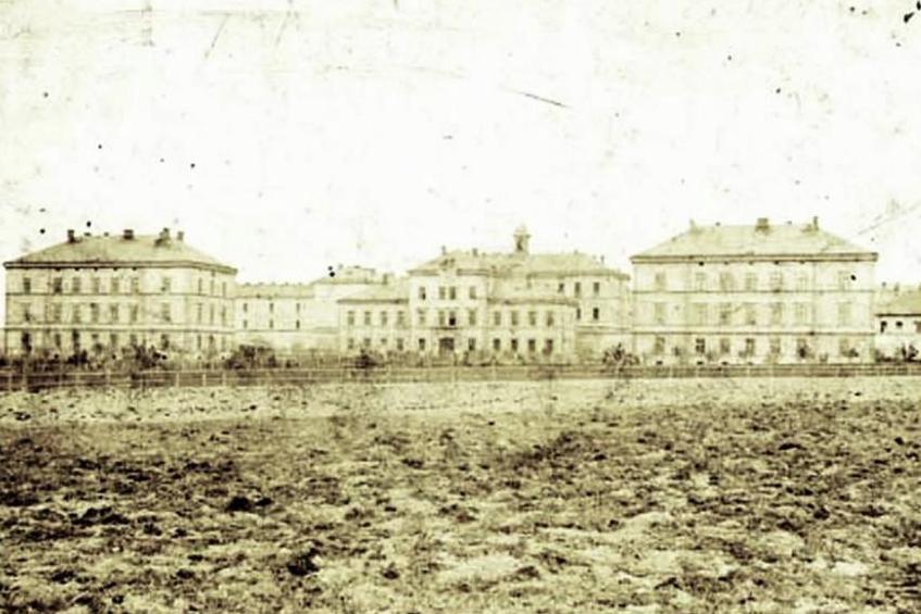 Věznice Pankrác na archivním snímku