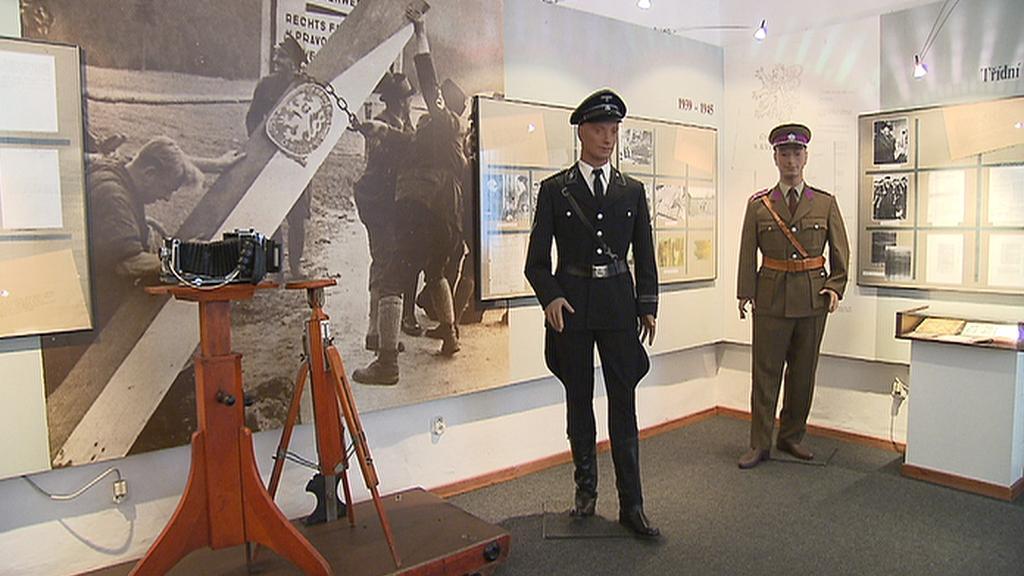 Historická expozice ve věznici Pankrác