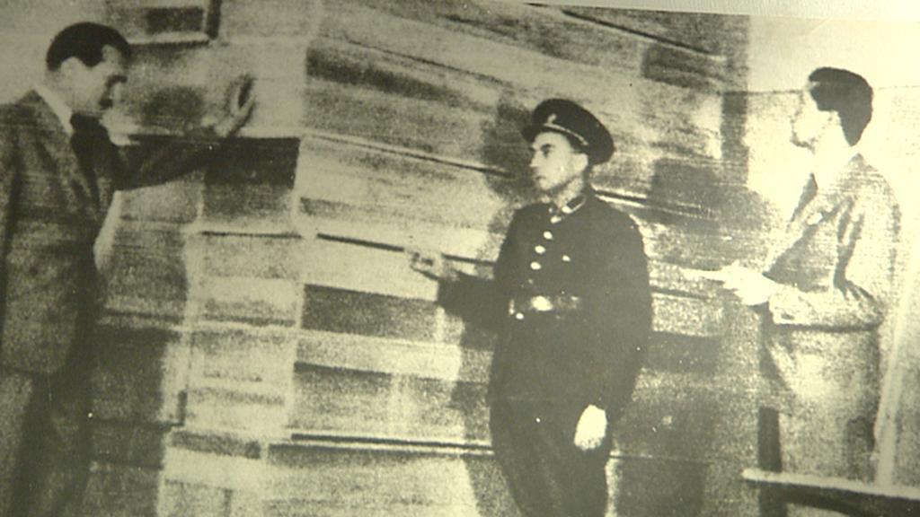 Archivní snímek z konce války ve věznici Pankrác