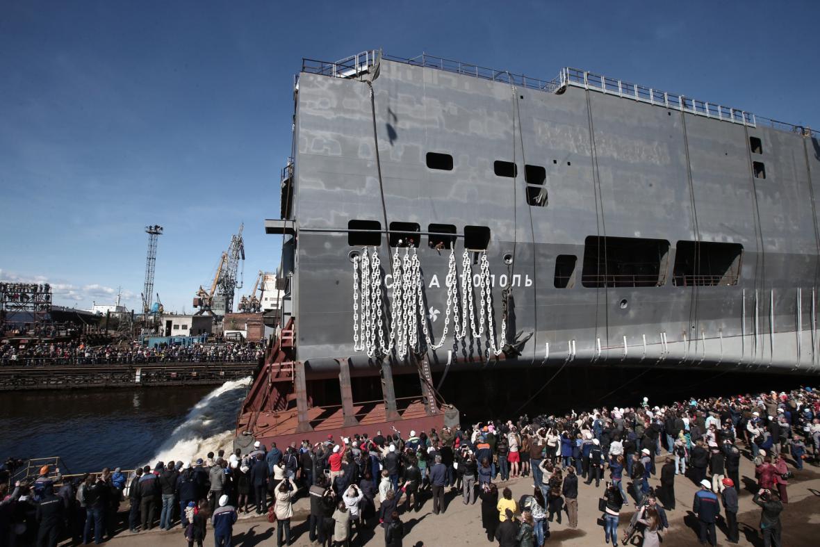 Vojenská loď Sevastopol