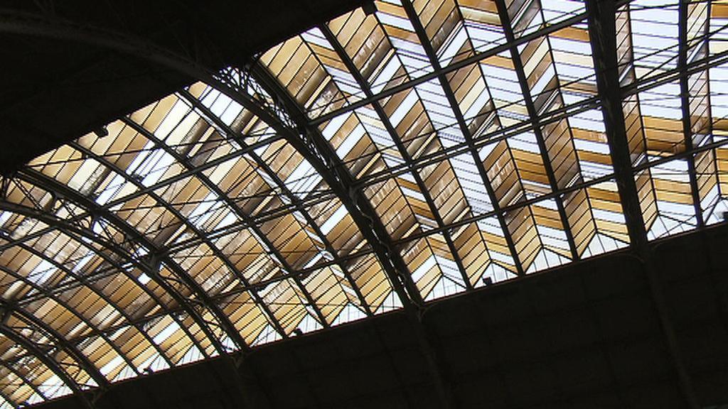 Zastřešení dvorany hlavního nádraží