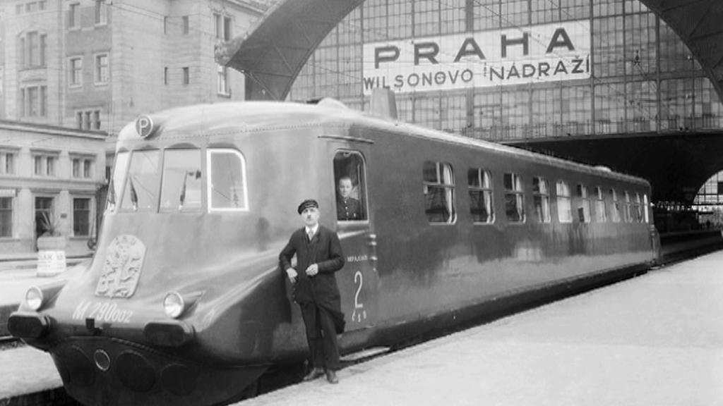 Wilsonovo nádraží ve 30. letech