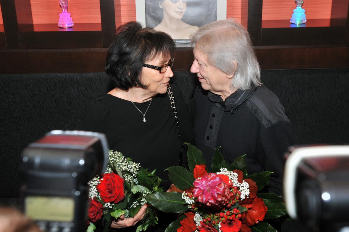 Marta Kubišová a Václav Neckář