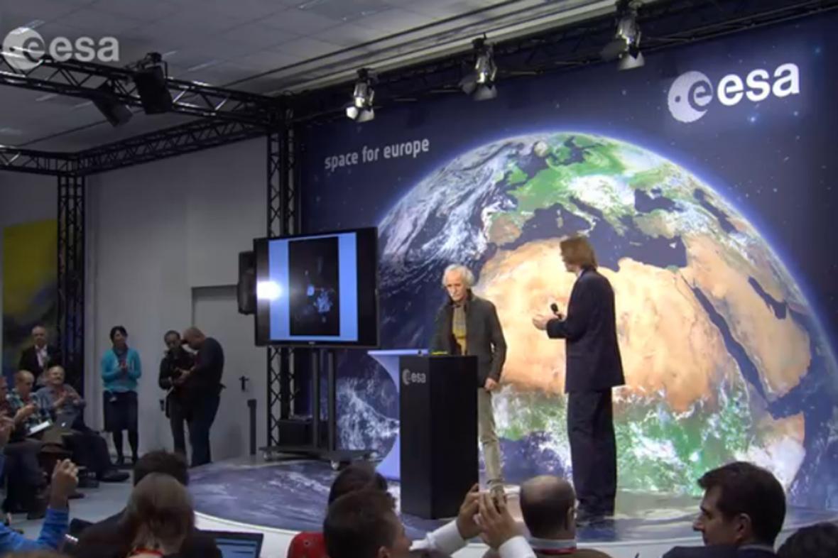 Brífink ESA k přistání modulu Philae na kometě