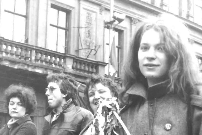 Simona Hradílková na dobové fotografii