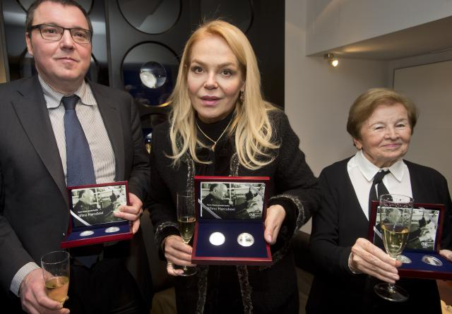 Miroslav Singer, Dagmar Havlová a Zdeňka Harcubová