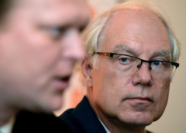 Předseda důchodové komise Martin Potůček