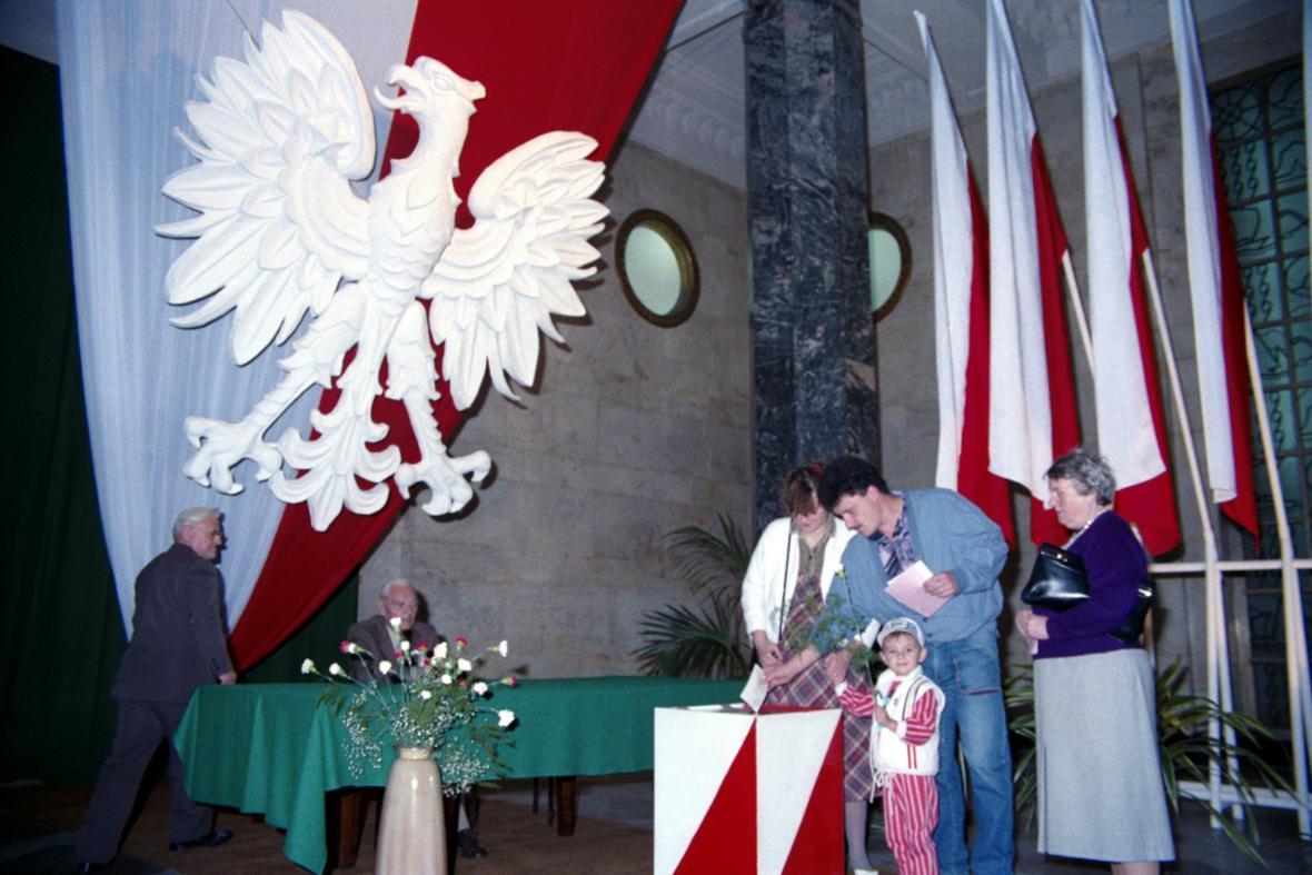 Polské volby v červnu 1989