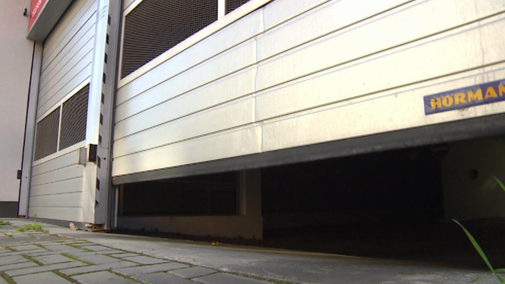 Parkovací dům v Hradci Králové