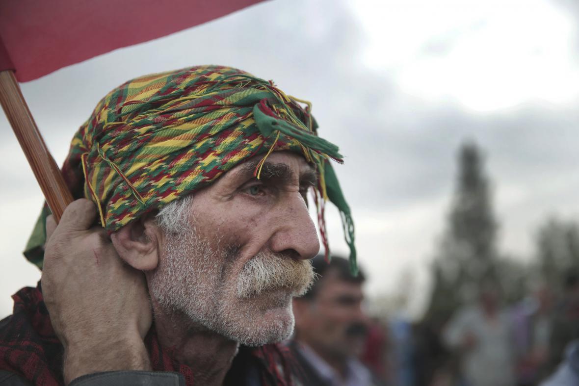 Uprchlík z Kobani