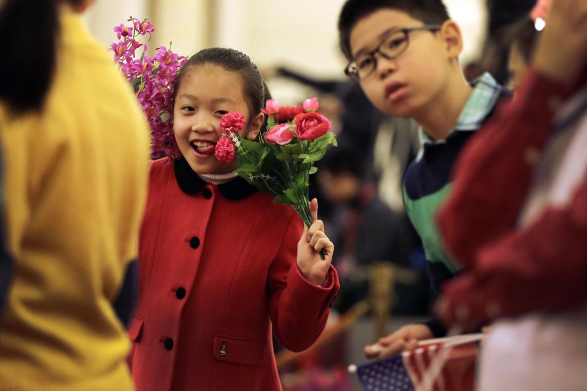 Americký prezident v Pekingu