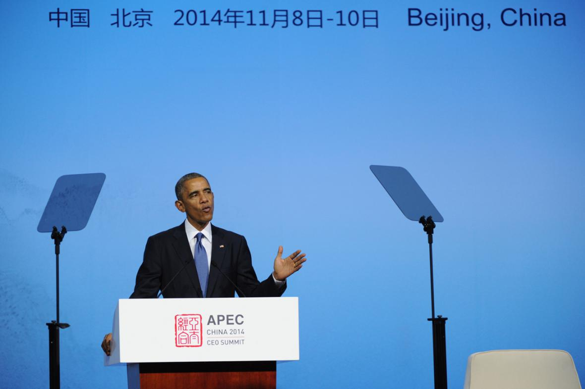 Barack Obama na summitu APEC
