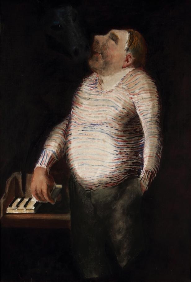 Portrét Vítězslava Nezvala od Josefa Šímy