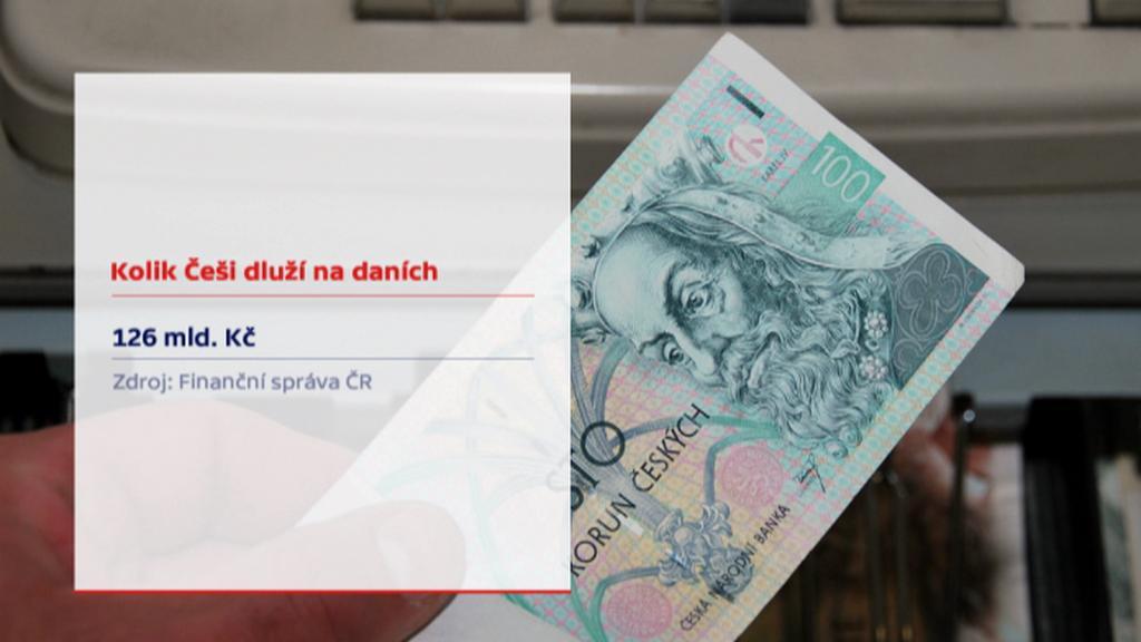Dluhy na daních