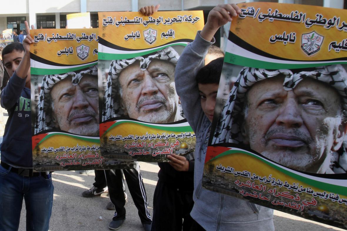 Desáté výročí úmrtí Jásira Arafata