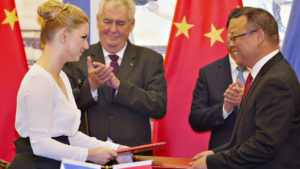 Karolína Milerová v Pekingu