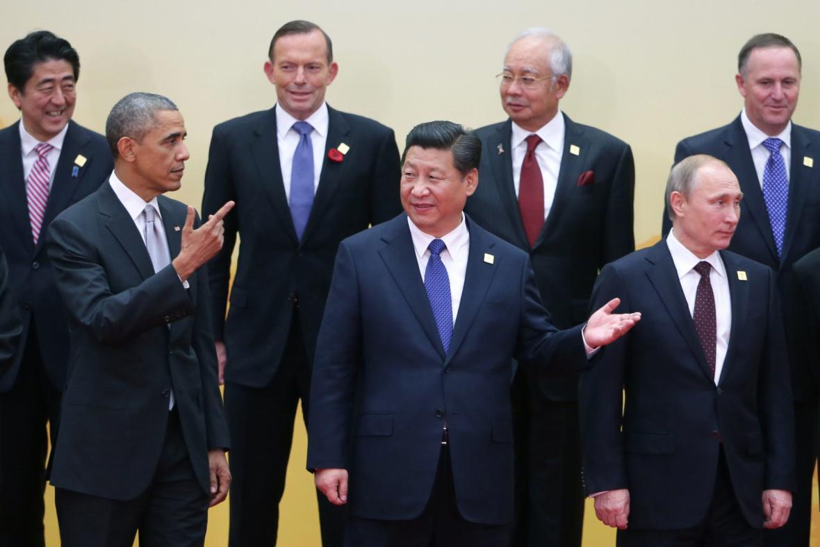 Putin a Obama na summitu APEC