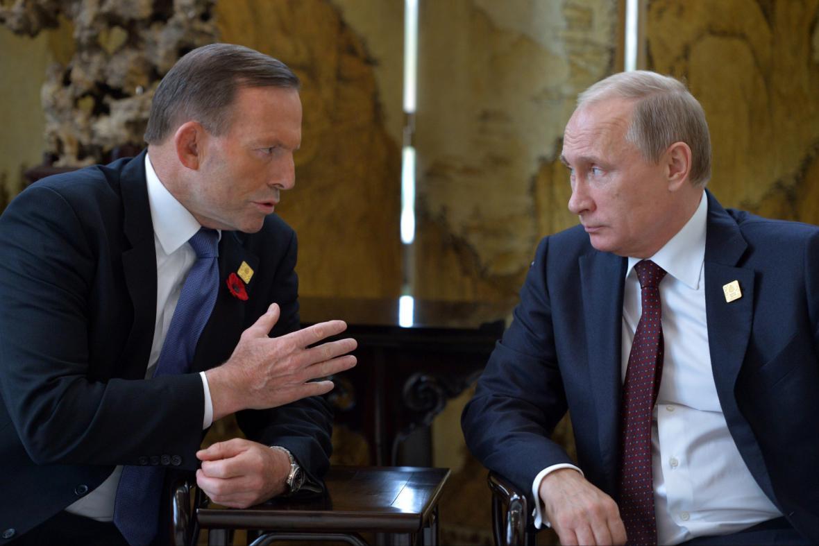 Neformální jednání mezi Abbottem a Putinem