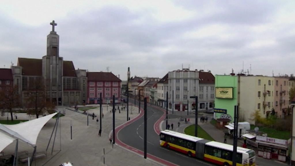 Vizualizace - Hradec Králové bez budovy hotelu Černigov