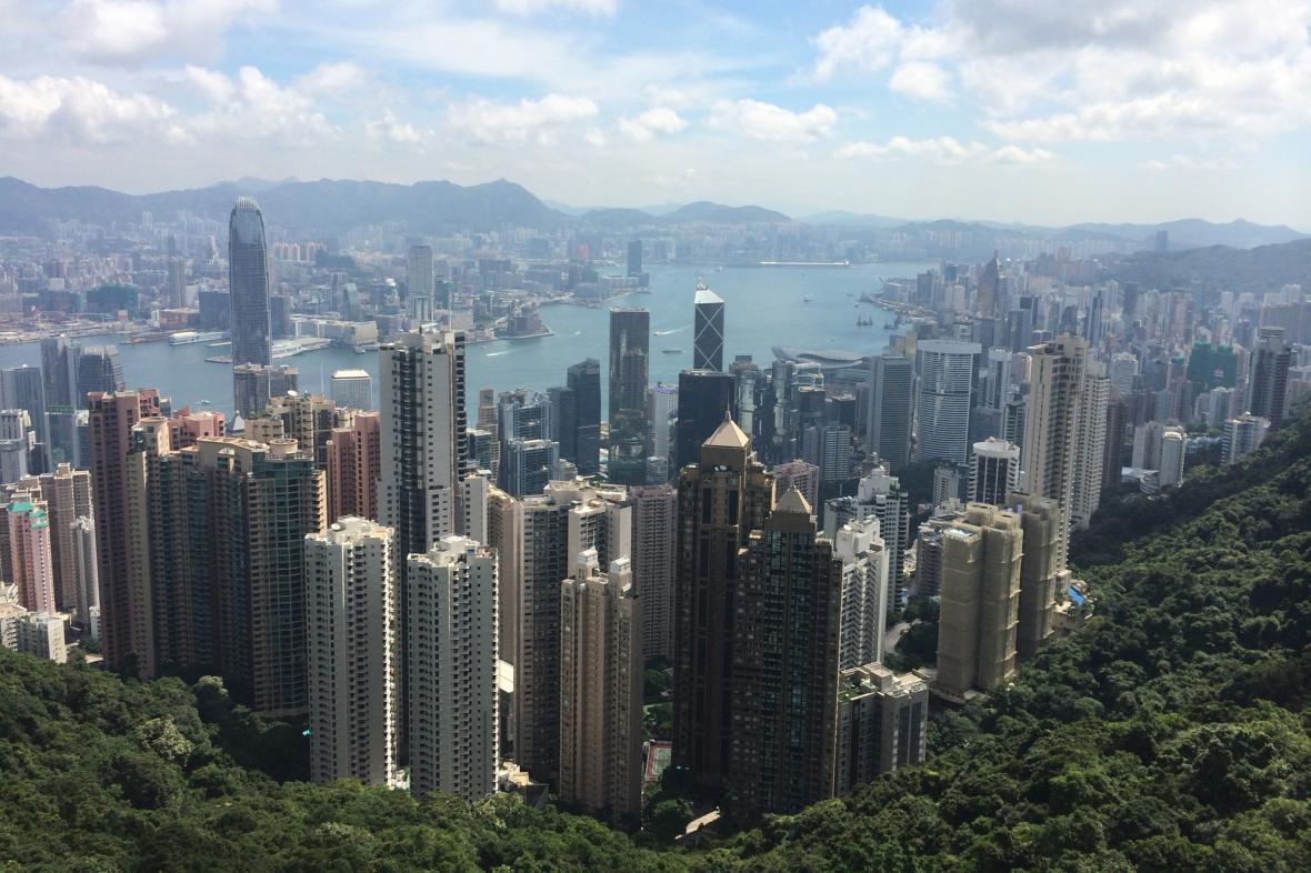 Panorama Hongkongu mluví samo za sebe
