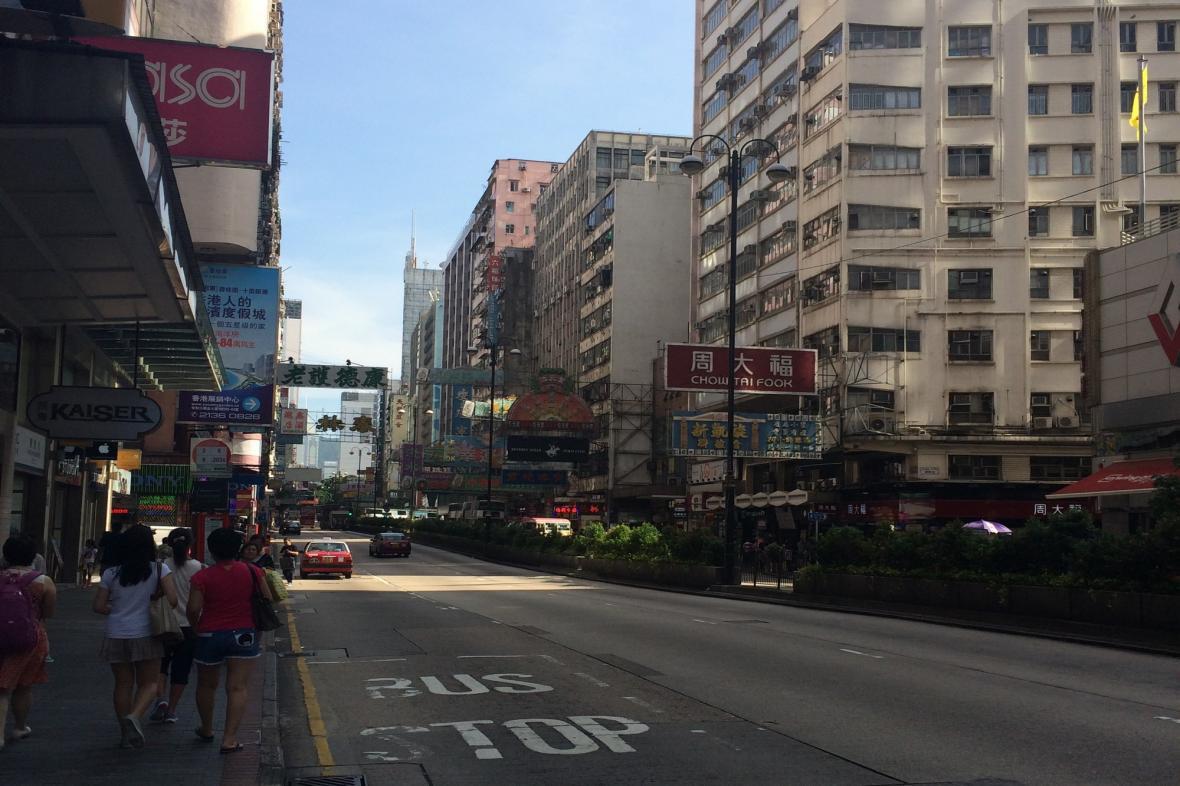 Nathan Road je výkladní skříní Hongkongu