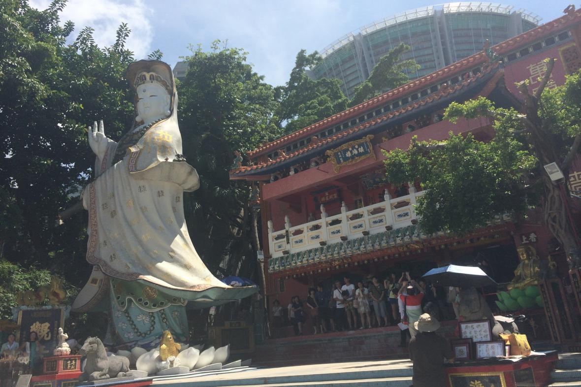 Turisty přitahuje i sakrální tvář Hongkongu