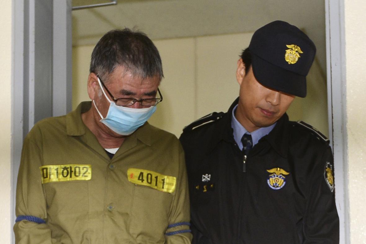 Kapitán I Čun-sok odsouzený za potopení trajektu