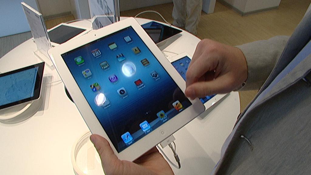 Prodej iPadů