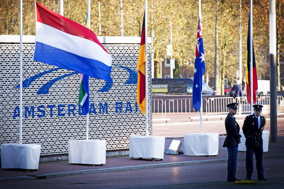 Nizozemsko uctilo památku obětí letu MH17
