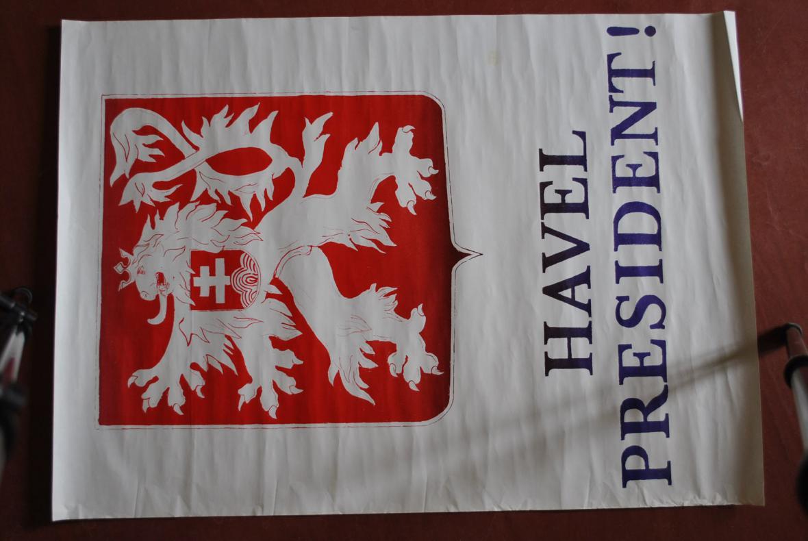 Z výstavy k listopadu 89 v Nostickém paláci