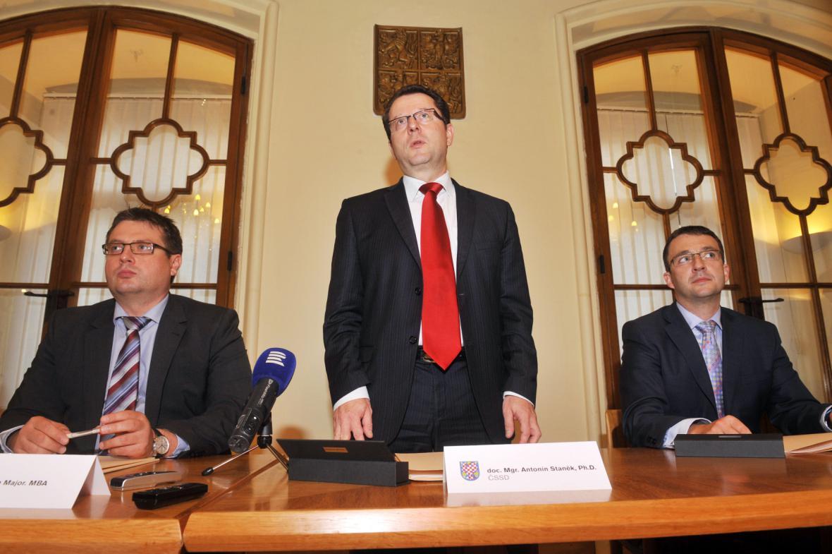 Nové vedení Olomouce