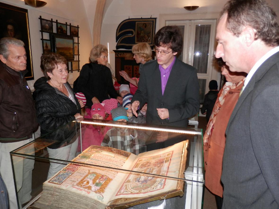 Graduál v lounském muzeu