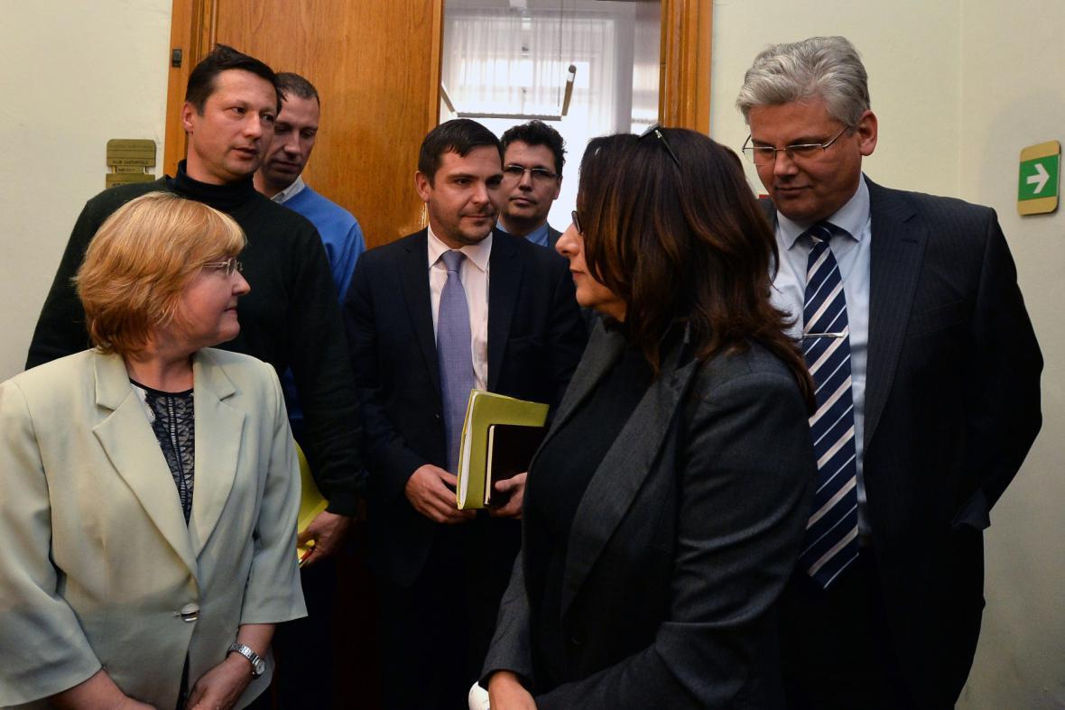 Členové pražské koalice