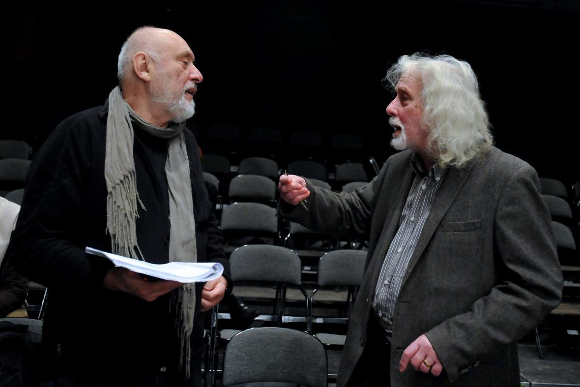 Petr Oslzlý (vpravo) a Ivo Krobot