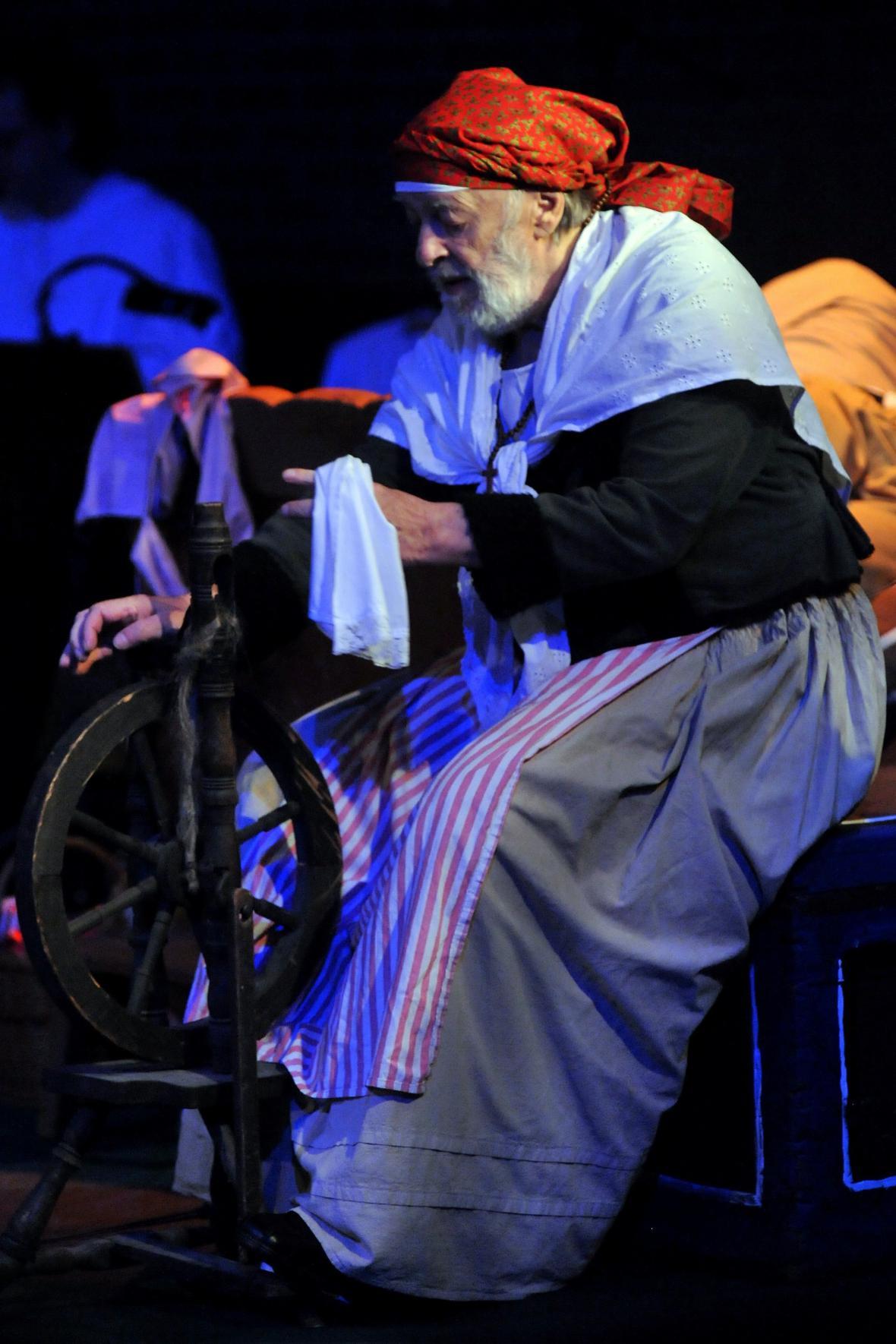 Představení Babička v Divadle Husa na provázku