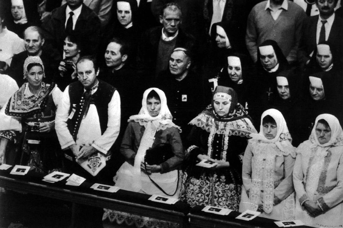 Papež Jan Pavel II. - svatořečení Anežky České ve Vatikánu