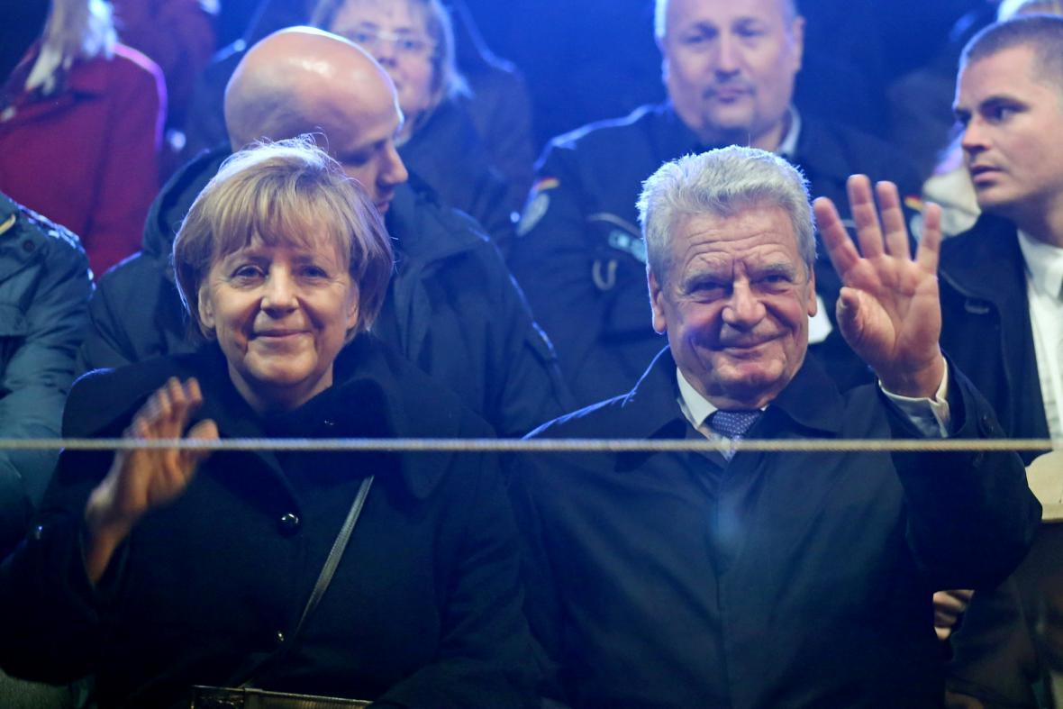 Angela Merkelová a Joachim Gauck